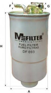 MFILTER DF693 Топливный фильтр