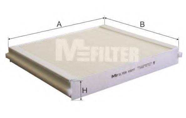 MFILTER K977 Фильтр, воздух во внутренном пространстве