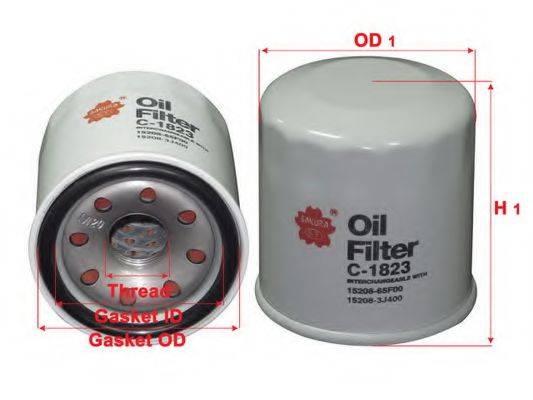 SAKURA AUTOMOTIVE C1823 Масляный фильтр