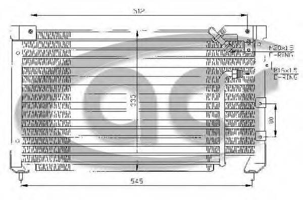 ACR 300318 Конденсатор, кондиционер
