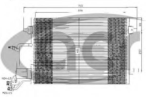 ACR 300351 Конденсатор, кондиционер