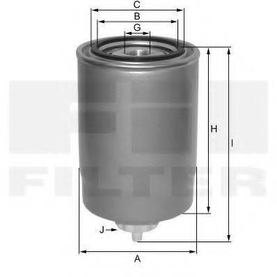 FIL FILTER ZP3064F Топливный фильтр