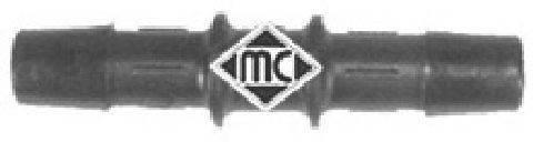 METALCAUCHO 00044 Соединительный патрубок, трубопровод охлаждающей жидкости
