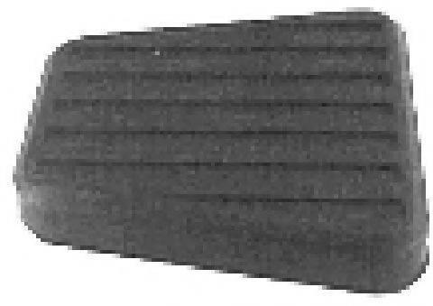 METALCAUCHO 00425 Накладка на педаль, педаль сцепления