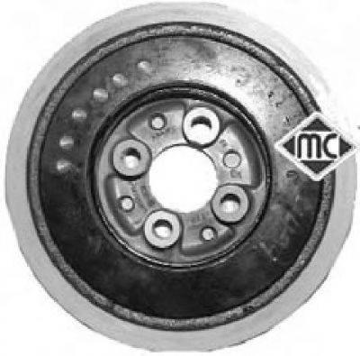 METALCAUCHO 04497 Ременный шкив, коленчатый вал