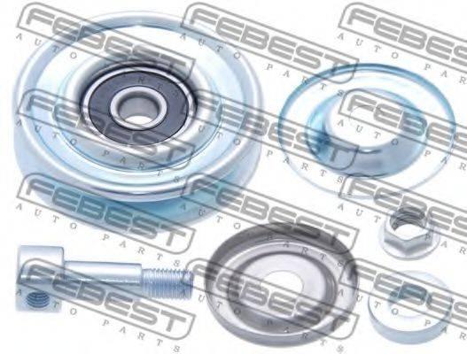 FEBEST 0287P12 Натяжной ролик, поликлиновой  ремень
