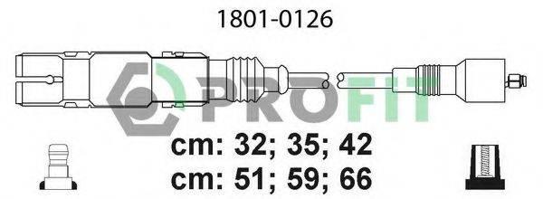 PROFIT 18010126 Комплект проводов зажигания