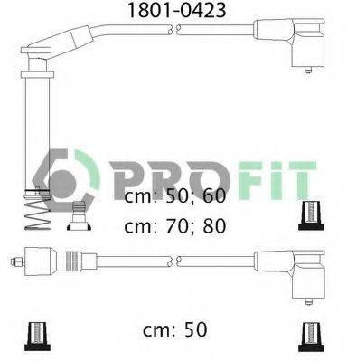 PROFIT 18010423 Комплект проводов зажигания
