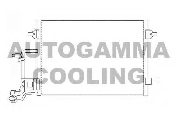 AUTOGAMMA 107315 Конденсатор, кондиционер