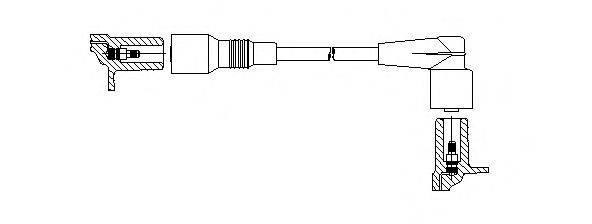 BREMI 35141 Провод зажигания