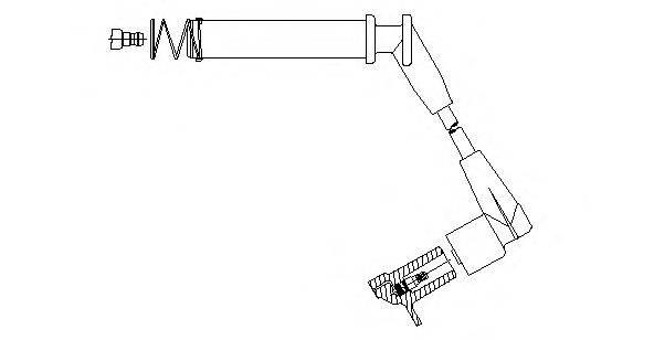 BREMI 37035 Провод зажигания