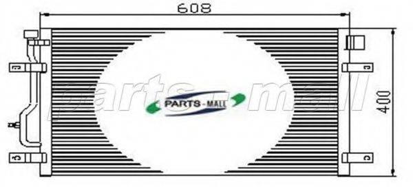 PARTS-MALL PXNCT006 Конденсатор, кондиционер