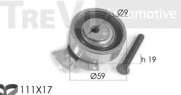 TREVI AUTOMOTIVE KD1130 Комплект ремня ГРМ