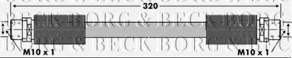 BORG & BECK BBH6875 Тормозной шланг