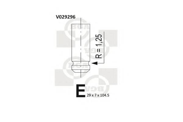 BGA V029296 Выпускной клапан