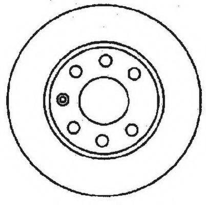 JURID 561142JC Тормозной диск