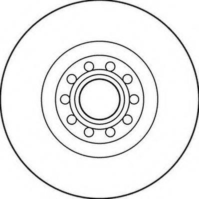 JURID 562205JC Тормозной диск