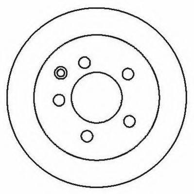 JURID 562280JC Тормозной диск