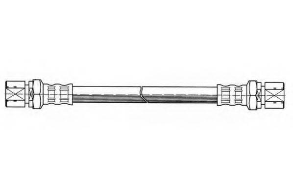 JURID 171215J Тормозной шланг