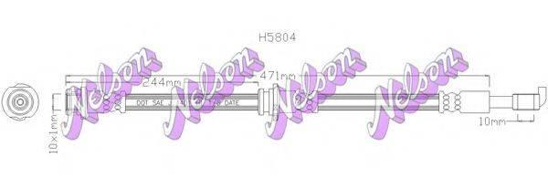 BROVEX-NELSON H5804 Тормозной шланг