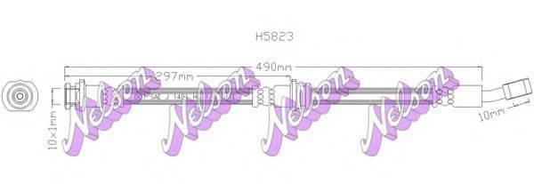 BROVEX-NELSON H5823 Тормозной шланг