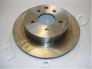 JAPKO 61158 Тормозной диск