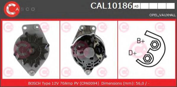 CASCO CAL10186AS Генератор