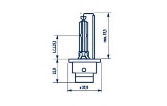 NARVA 84002 Лампа накаливания, фара дальнего света; Лампа накаливания, основная фара; Лампа накаливания, основная фара; Лампа накаливания, фара дальнего света