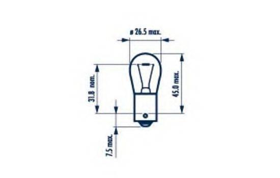 NARVA 17635 Лампа накаливания, фонарь указателя поворота; Лампа накаливания, основная фара; Лампа накаливания, фонарь сигнала торможения; Лампа накаливания, фонарь освещения номерного знака; Лампа накаливания, задняя противотуманная фара; Лампа накаливания, фара заднего хода; Лампа накаливания, задний гарабитный огонь; Лампа накаливания, oсвещение салона; Лампа накаливания, фонарь указателя поворота; Лампа накаливания, фонарь сигнала торможения; Лампа накаливания, задняя противотуманная фара; Лампа накаливания, фара заднего хода; Лампа накаливания, задний гарабитный огонь; Лампа накаливания, дополнительный фонарь сигнала торможения