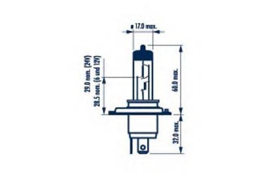 NARVA 48003 Лампа накаливания, фара дальнего света; Лампа накаливания, основная фара; Лампа накаливания, противотуманная фара; Лампа накаливания, основная фара; Лампа накаливания, фара дальнего света; Лампа накаливания, противотуманная фара