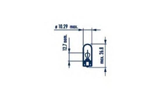 NARVA 17169 Лампа накаливания, фонарь указателя поворота; Лампа накаливания, стояночный / габаритный огонь; Лампа накаливания, фонарь указателя поворота
