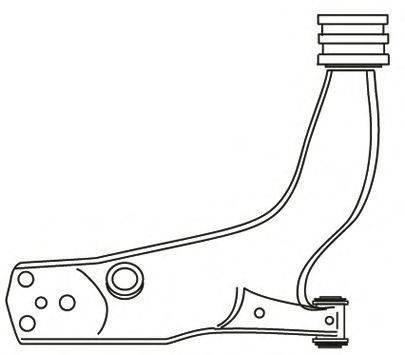 FRAP 2327 Рычаг независимой подвески колеса, подвеска колеса