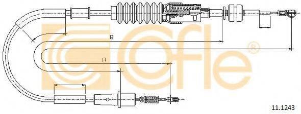 COFLE 111243 Тросик газа