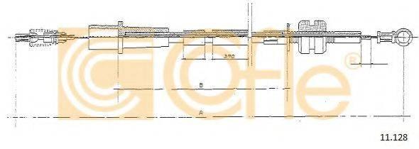 COFLE 11128 Тросик газа