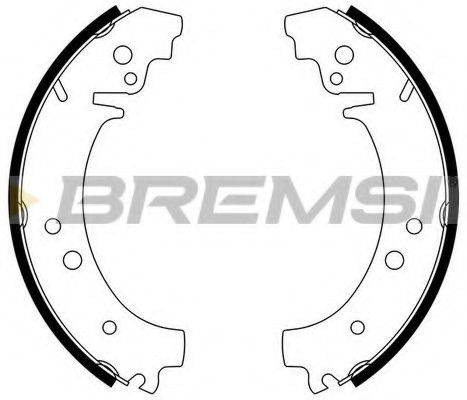 BREMSI GF0160