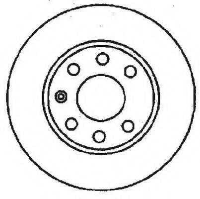 BENDIX 561158B Тормозной диск
