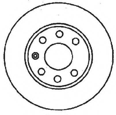 BENDIX 561248B Тормозной диск