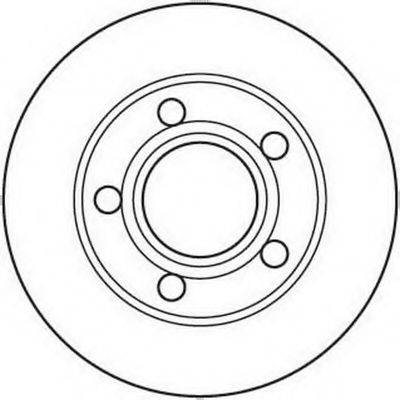 BENDIX 562089B Тормозной диск