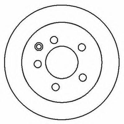 BENDIX 562280B Тормозной диск