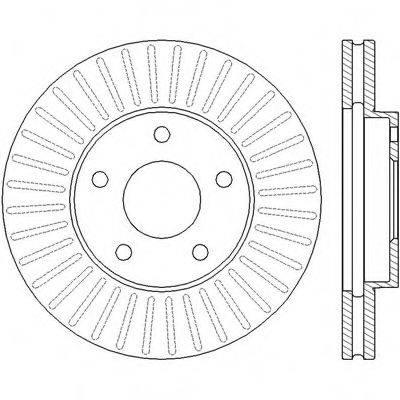 BENDIX 562441B Тормозной диск