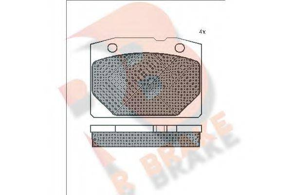 R BRAKE RB0155