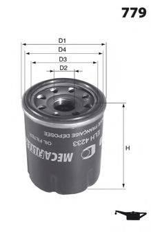 LUCAS FILTERS LFOS159 Масляный фильтр