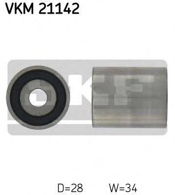 SKF VKM21142 Паразитный / Ведущий ролик, зубчатый ремень