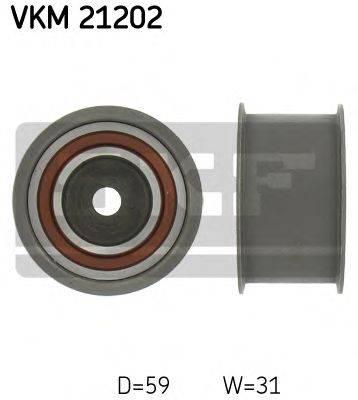 SKF VKM21202 Паразитный / Ведущий ролик, зубчатый ремень