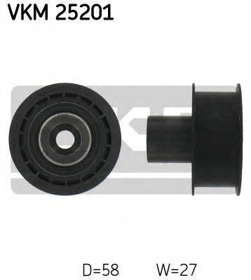 SKF VKM25201 Паразитный / Ведущий ролик, зубчатый ремень