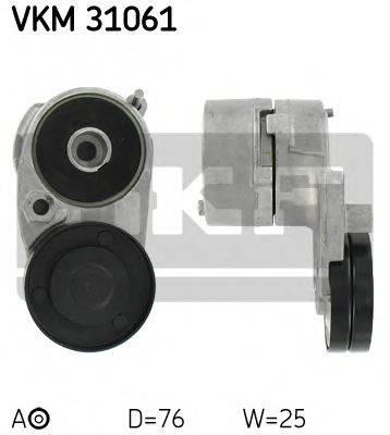 SKF VKM31061 Натяжной ролик, поликлиновой  ремень