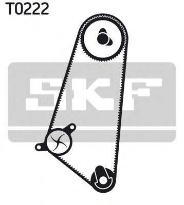 SKF VKMC05120 Водяной насос + комплект зубчатого ремня