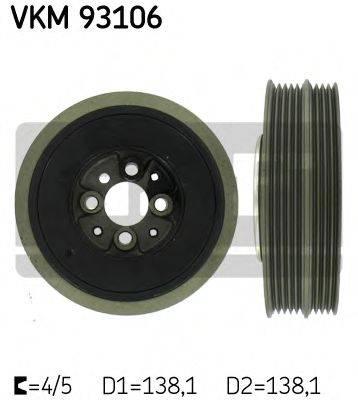 SKF VKM93106 Ременный шкив, коленчатый вал