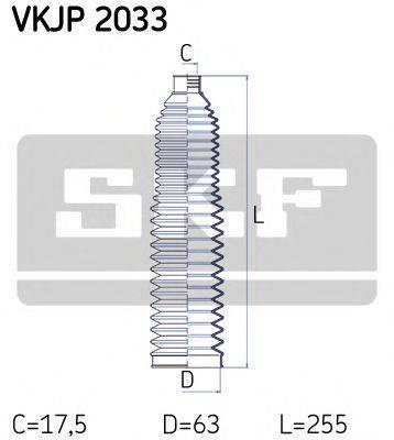 SKF VKJP2033 Комплект пылника, рулевое управление