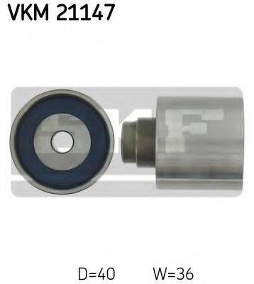 SKF VKM21147 Паразитный / Ведущий ролик, зубчатый ремень